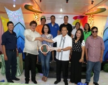 October 3, 2017 - NIA Bicol Turn-over Ceremony at the regional office compound in Naga City.